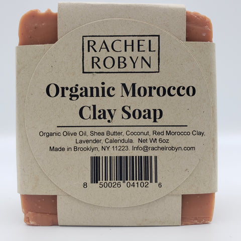 Organic Morocco Clay Soap