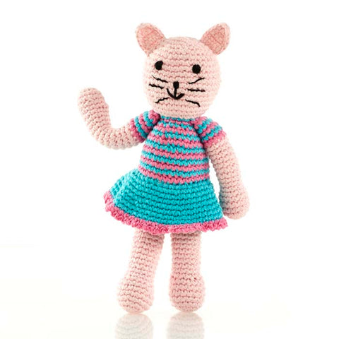 Pink Cat rattle