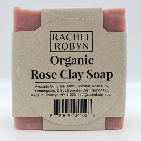 Organic Rose Clay Soap
