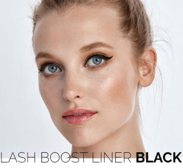 Lash Boost Eyeliner- Black