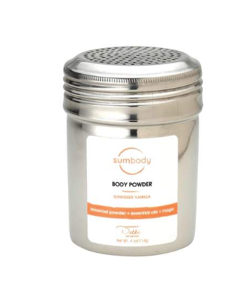 SunKissed Vanilla Body Powder, 4oz
