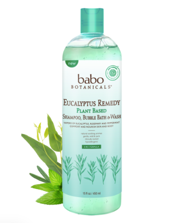Eucalyptus Remedy- Bubble Bath & Wash