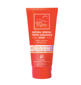 Suntegrity Natural Mineral Tinted Sunscreen - 3oz.
