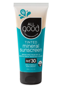 SPF 30 Tinted Mineral Sunscreen