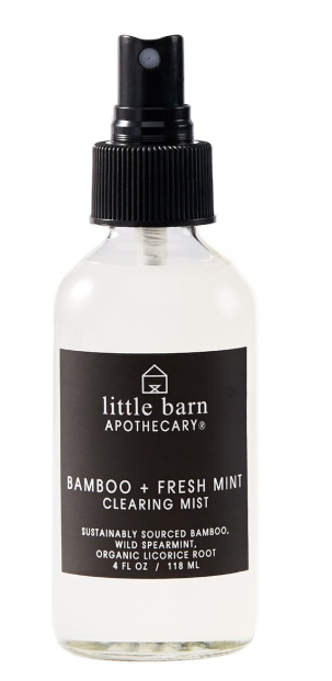 Bamboo+Fresh Mint Clearing Mist