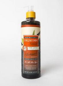 Pure Castille Liquid Soap-Charcoal