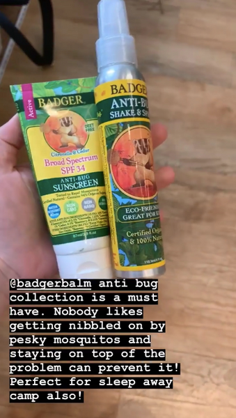 Anti-Bug Sunscreen SPF 34