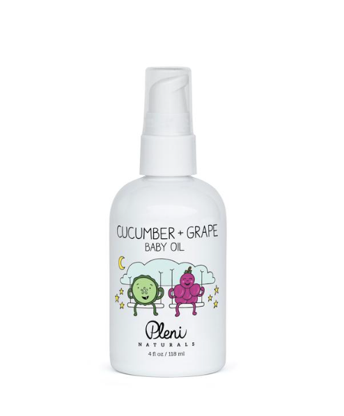 Cucumber and Grape Baby Oil 4.0oz