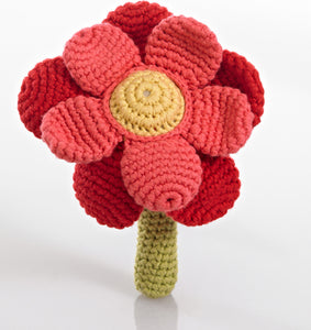Rose Flower rattle