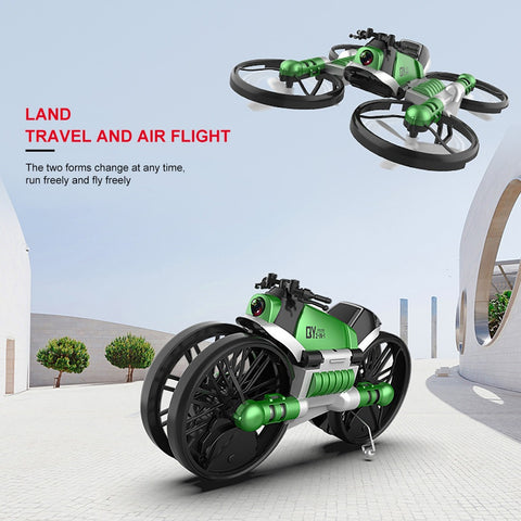 LuxeFrog - Transformation motorcycle Quadcopter