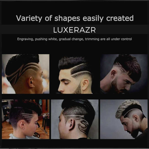 LuxeRazr - Hair Clipper for men hair tattoo