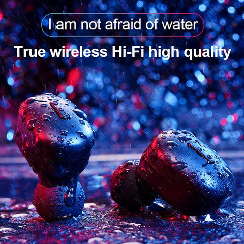 LuxeFrog - Bluetooth Wireless Earphones Waterproof