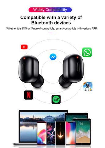 LuxeFrog - Bluetooth Wireless Earphones Device Compatibility