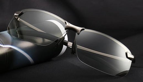 LuxeFrog - Photochromic Day and Night Vision Driving Glasses