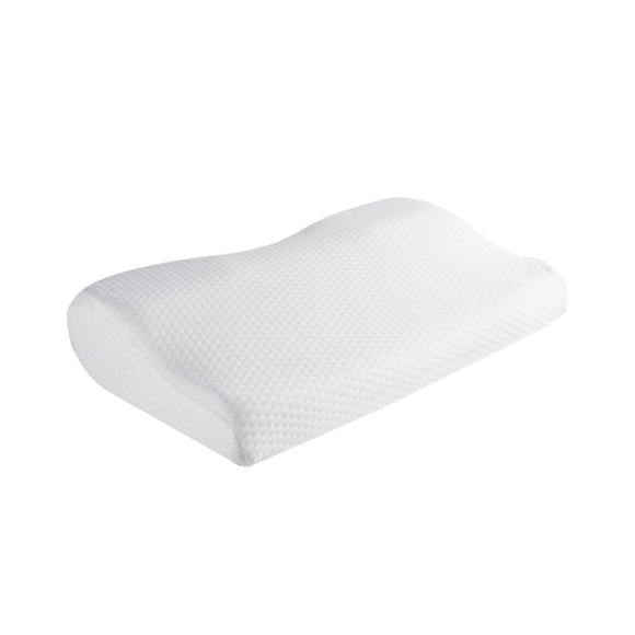 LuxeFrog - OrthoSlow Orthopedic Memory Foam Neck Contour Pillow