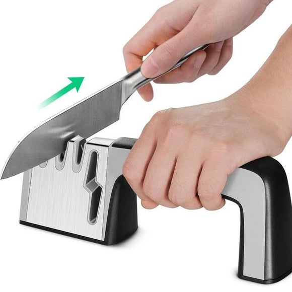 LuxeFrog - Diamond Cut Knife Sharpener