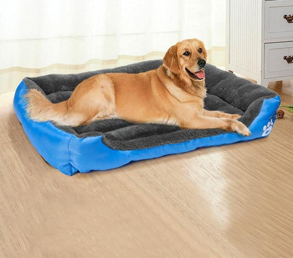 LuxeFrog - Soft Warm Dog Bed - Small to Large Dogs