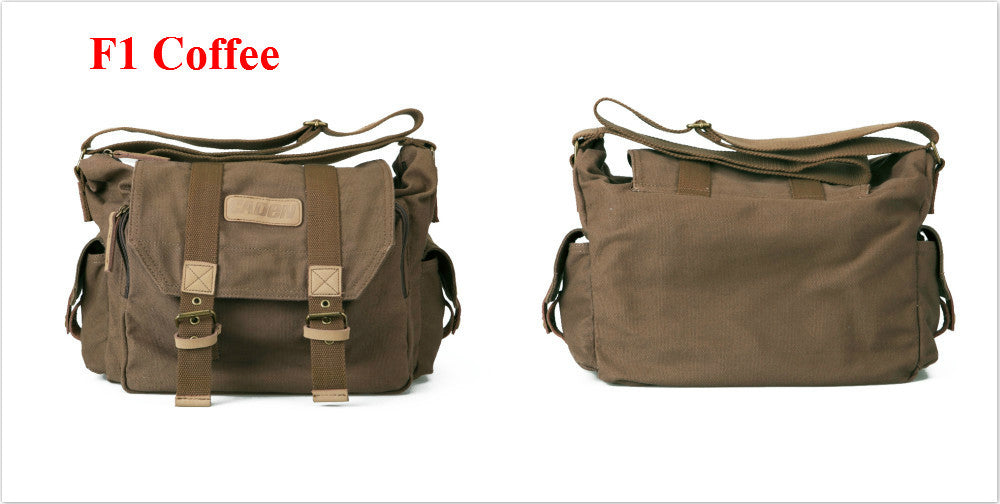 Green Khaki camera carrying case