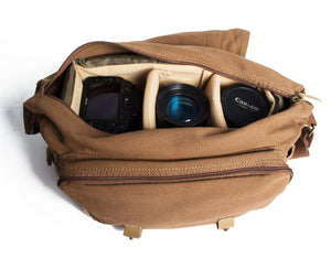 canvas camera bag