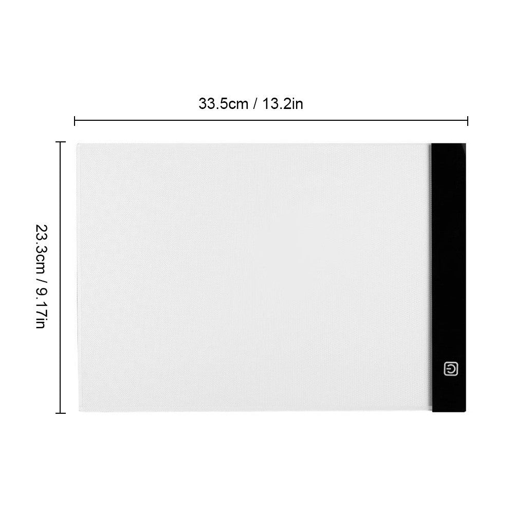Portable A4 LED Light Box Drawing Tracing Tracer Copy Board