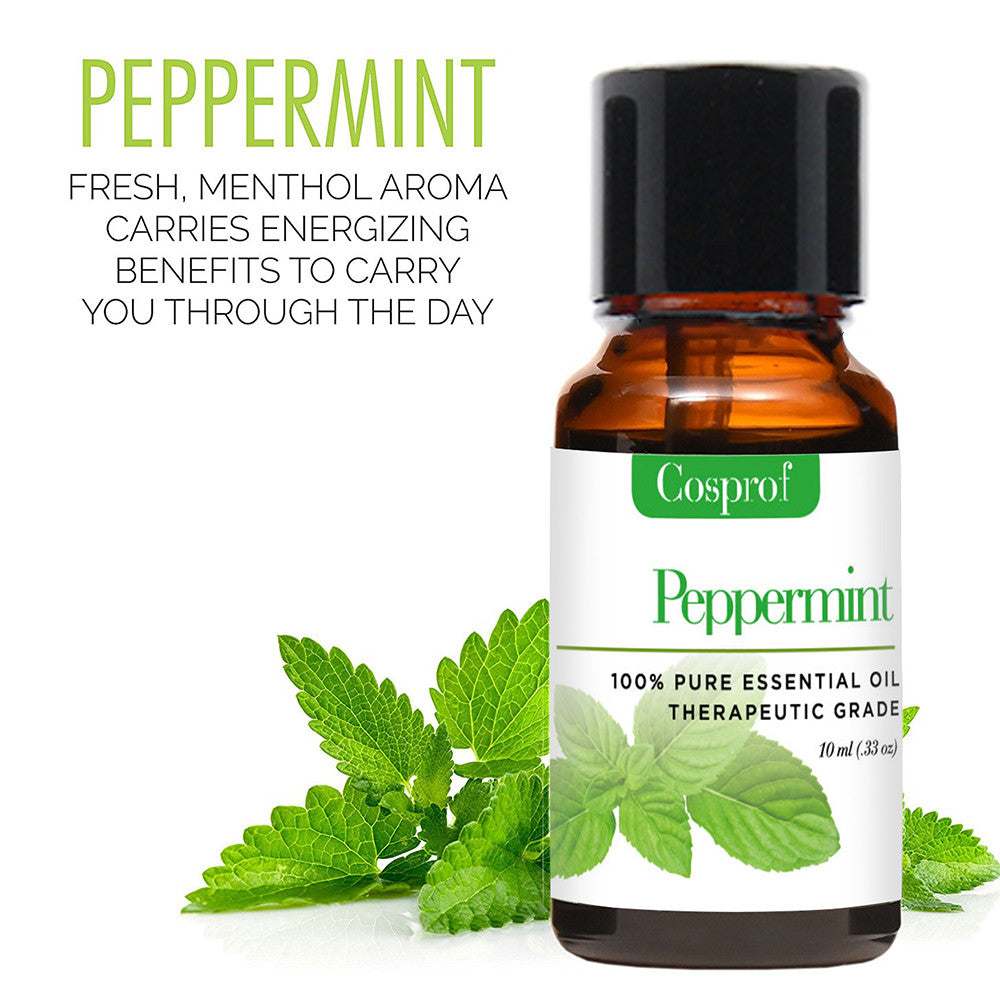 LuxeFrog - peppermint essential oil