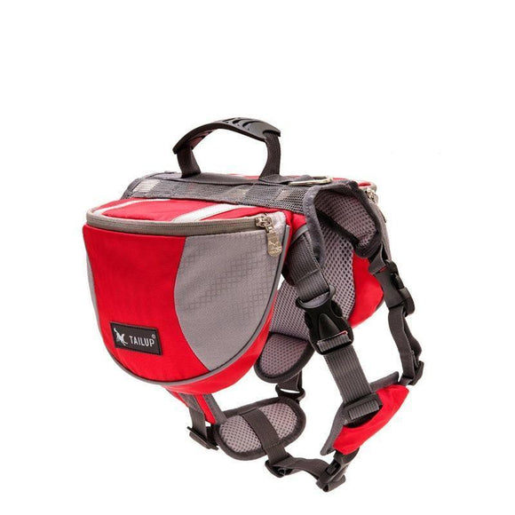 Dog Saddlebags for Exercise, Travel, Adventure, Hiking - Tactical Backpack Harness