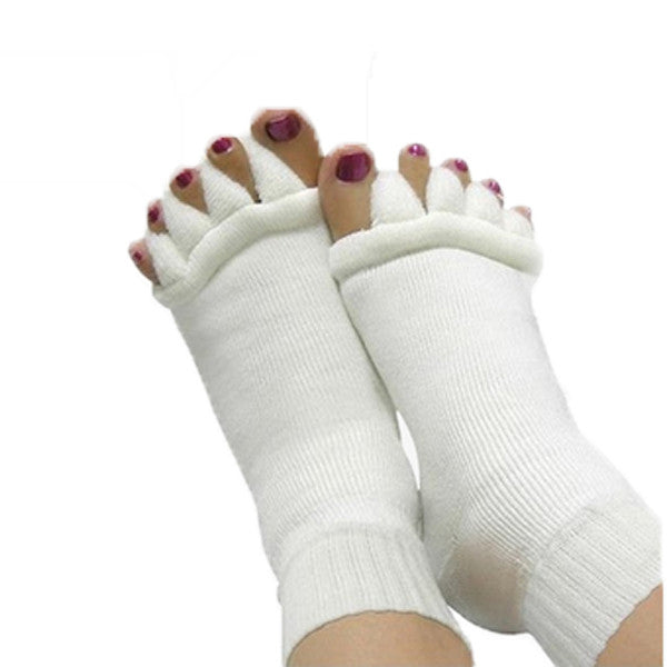 LuxeFrog - Unisex Reflexology Massage Socks