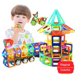 LuxeFrog - Kids Magnetic Construction Set Designer Building Blocks