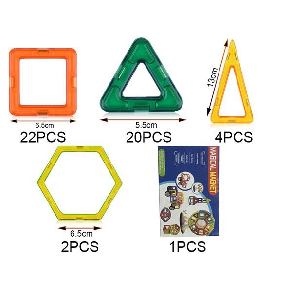 Kids Magnetic Construction Set Designer Building Blocks