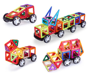 Magnetic building blocks for kids and toddlers