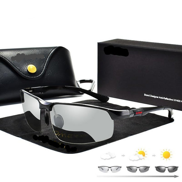 photochromic polarized sunglasses