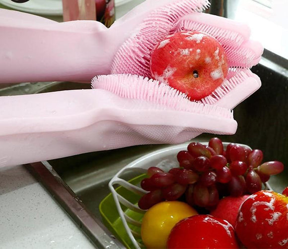 LuxeFrog - Magic Silicone Cleaning Gloves