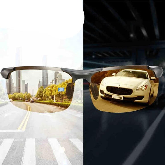 Photochromic Night Vision Driving Glasses