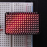 Adafruit matriz LED Charlieplexed Matrix - 9x16 LEDs Rojo