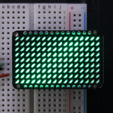 Adafruit matriz LED Charlieplexed Matrix - 9x16 LEDs Verde