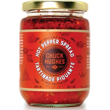 Chuck Hughes Hot Pepper Spread
