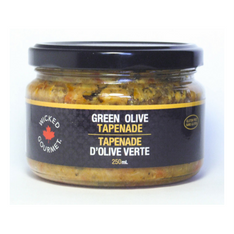 Wicked Gourmet Green Olive Tapenade