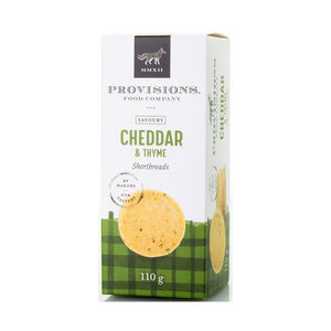 SOLD OUT Provisions Cheddar and Thyme Shortbreads