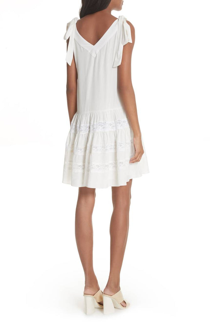 Rebecca Taylor Silk and lace dress