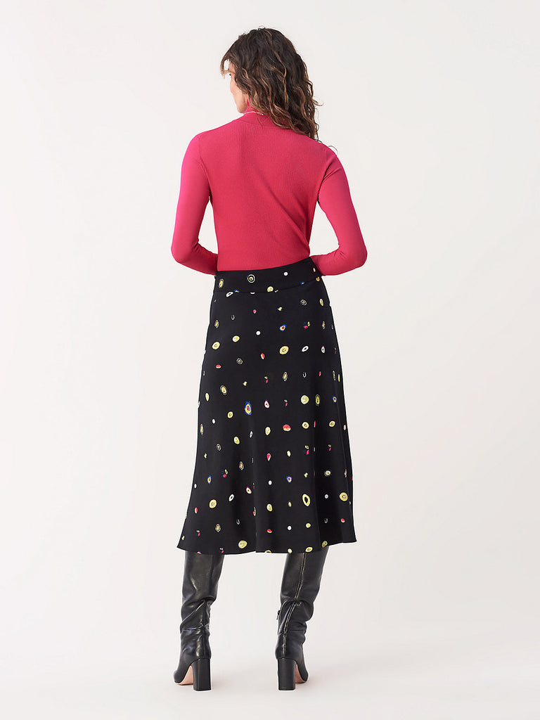 Lesley Skirt in Polka Dot Agate