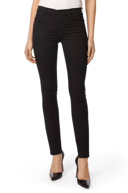 Maria High Rise Skinny Jean in Seriously Black