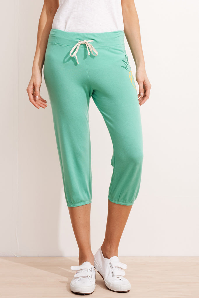 Pineapple Capri Pants