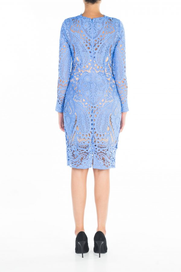 Blue Bell Lace Dress