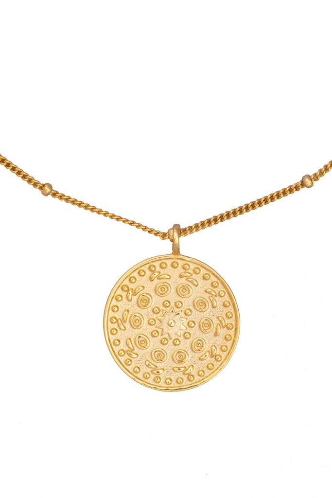 Solar Dial Necklace