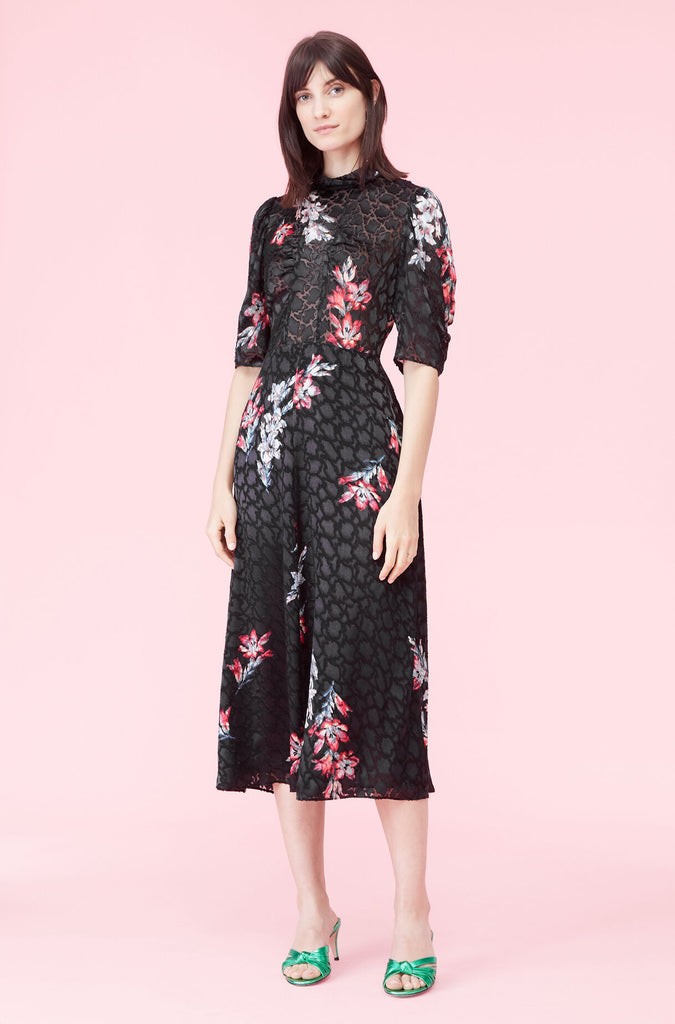 Short Sleeve Noha Floral Dress