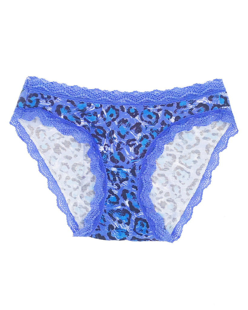 Blue Leopard Knicker