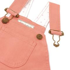 Arizona Pink Denim Dungarees