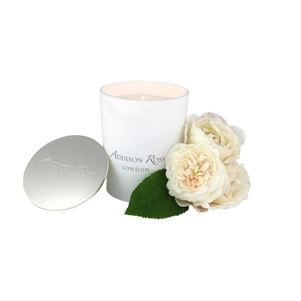 Amalfi White Scented Candle