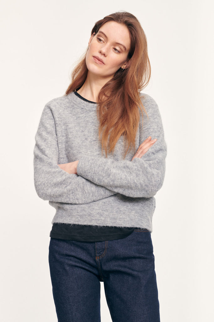 Nor o-n Short Jumper in Grey