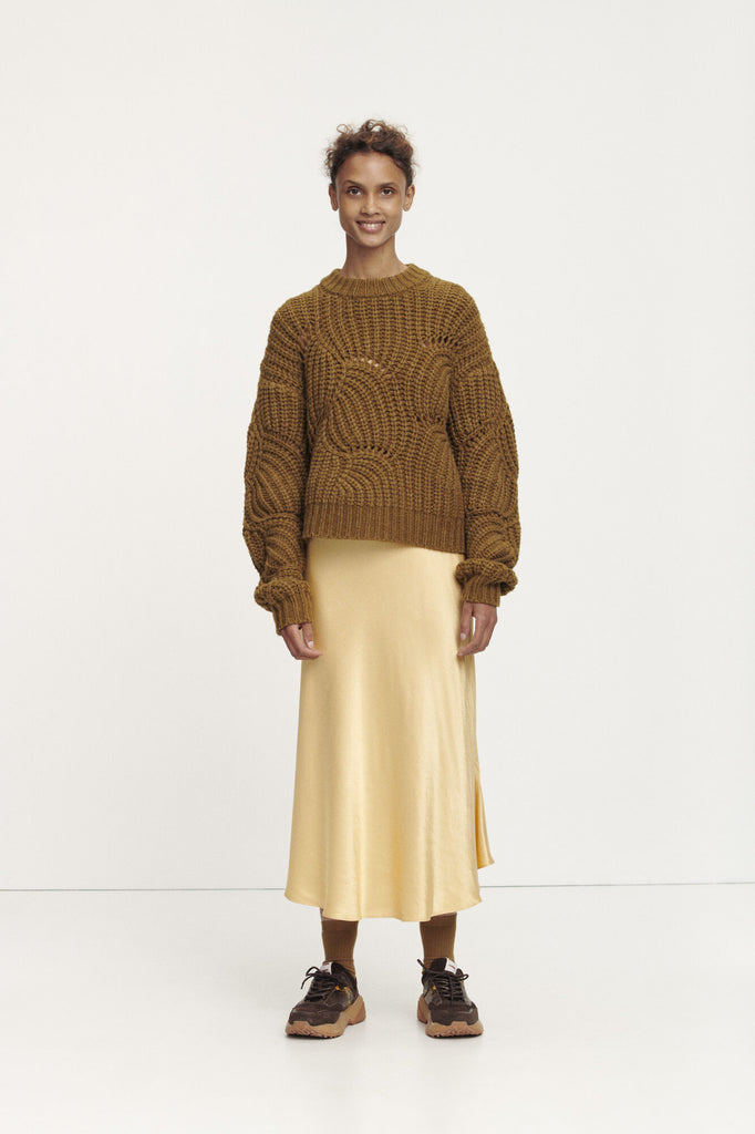 Alsop Skirt in New Wheat